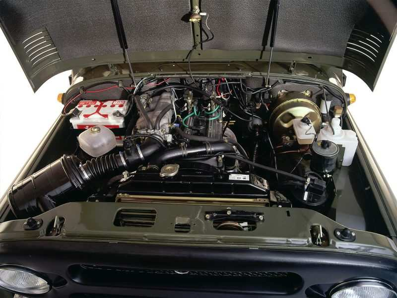 UAZ Hunter engine