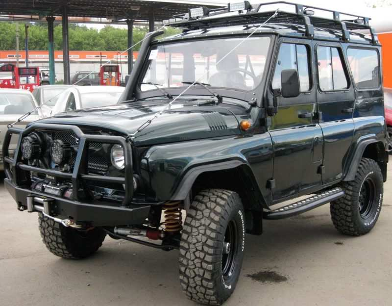 UAZ Hunter tuning