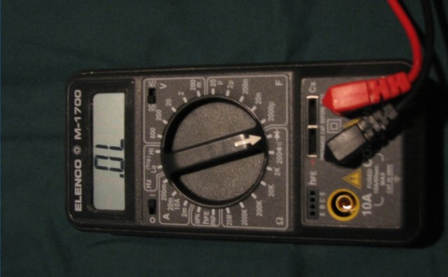 Familiarize Ohm Meter Functions