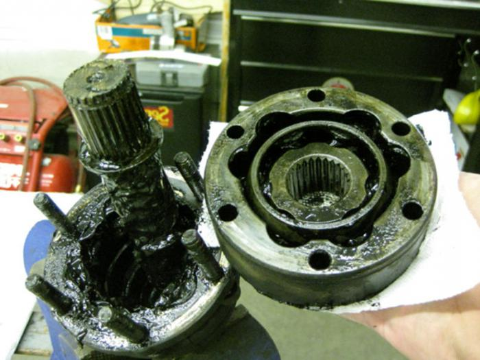 replacing the boot outer CV joint VAZ 2109