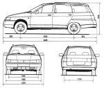 Ваз 2111 технические характеристики – Технические характеристики Ваз 2111