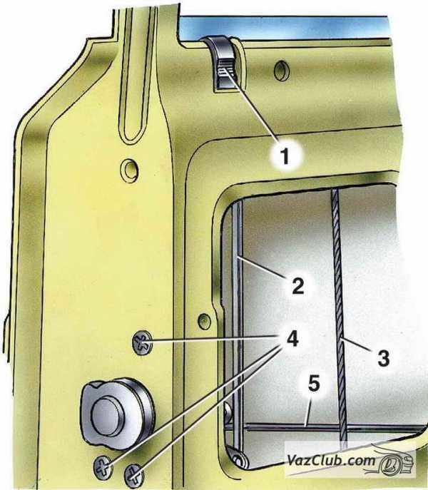 ремонт двери ваз 2106