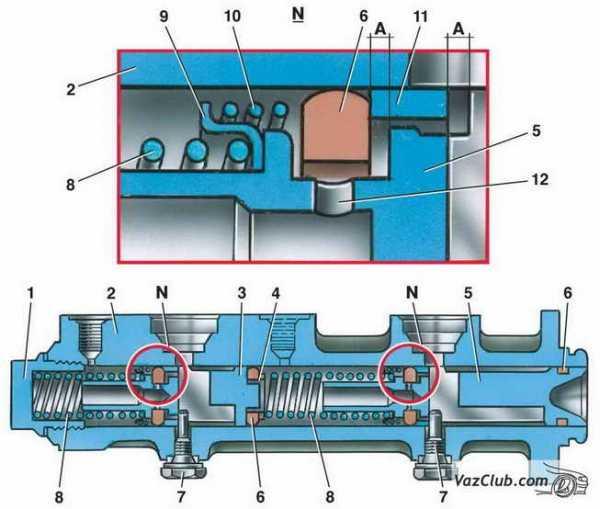 ремонт передних тормозов ваз 2101