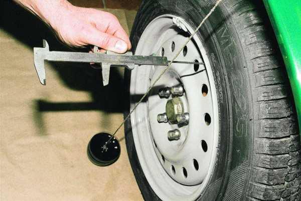 Ваз 2109 геометрия колес – Развал схождения своими руками ...
